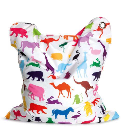 Sitting Bull 634006 Sitzsack Fashion Mini Bull - Happy Zoo