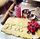 sps marketing Halloween Voodoo Dool Cookie Cutter for Kids bakeware Cookie Cutter Bone