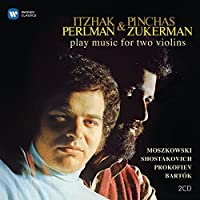 Duets for Two Violins by Itzhak Perlman