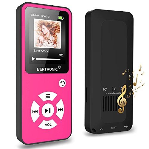 BERTRONIC Made in Germany BC01 Royal MP3-Player  Bis 100 Stunden Wiedergabe  Radio | Portabler Player mit Lautsprecher | Audio-Player für...