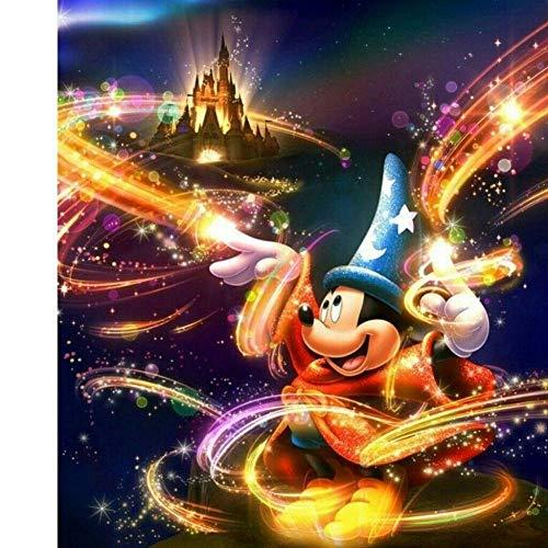 194Tdfc Toys - Rompecabezas 3D Para Adultos Juguetes Rompecabezas Clásicos Juegos Coloridos Para Niños -Sueño Mickey- Regalo -50 * 75Cm-1000 Piezas