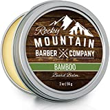 Beard Balm – Made with Natural Oils, Butters, & Rich in Vitamins & Minerals – Argan Oil, Shea Butter, Coconut Oil, & Jojoba Oil to Hydrate, Condition, & Protect Your Beard & Face
