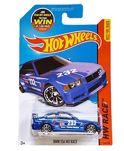 Hot Wheels, 2015 HW Race, BMW E36 M3 Race [Blue] #146/250 by Hot Wheels