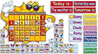 Scholastic Teacher's Friend Super Sunshine! Calendar Bulletin Board (TF3105)