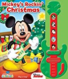 Disney Mickey Mouse Clubhouse - Mickey's Rockin' Christmas Sound book and Toy Guitar Set - PI Kids