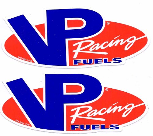 VP Fuels Racing Decals Stickers 6 Inches Long Size New Set of 2