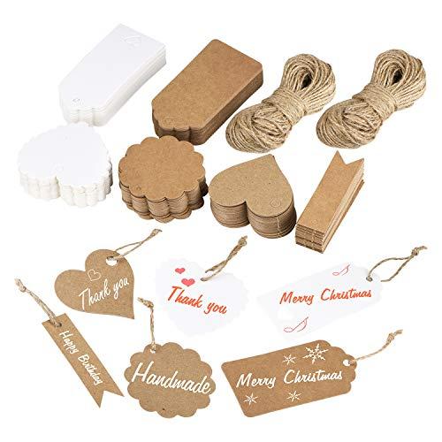 Etiquetas Navidad Kraft Marca MELLIEX