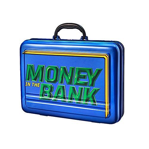 WWE Maletín Conmemorativo de Dinero en el Banco Azul