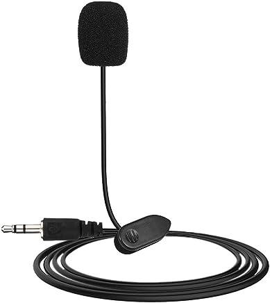 WEIWEITOE Nuovo Mini Microfono da 3,5 mm con Microfono da Studio Professionale con Microfono per Videogiochi per PC per PC e PC Nero - Trova i prezzi più bassi