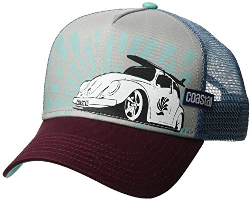 COASTAL TRUCKER CAP - HFT CAP LOW BEETLE - GREY