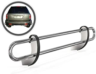 VGRBG-0492SS Stainless Steel Multi-fit Double Tube Rear Bumper Guard