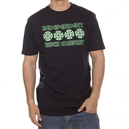 Independent Camiseta Stacked Color Black BK