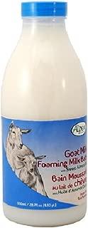 Alpen Secrets Goat Milk Foaming Milk Bath with Sweet Almond Oil, 28-Fluid Ounce (Pack of 2)