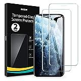 ESR Schutzfolie kompatibel mit iPhone 11 Pro Max/iPhone XS Max [2 Stück] [Face-ID kompatibel]...