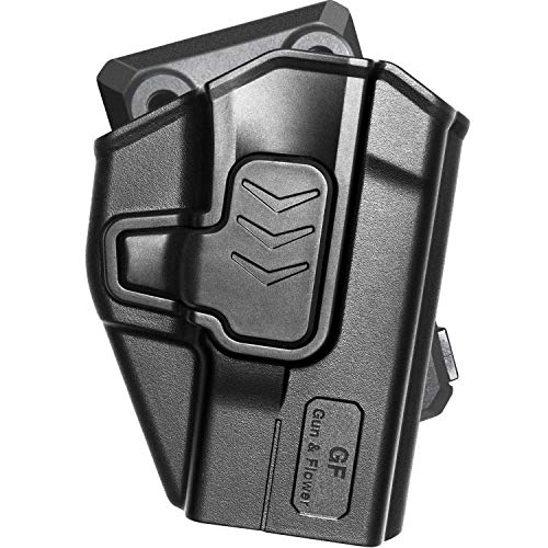 Taurus G2C Holsters, OWB Holster Taurus Millennium G2/G2C, Taurus G3C, PT111, PT132, PT138, PT140, PT745 (Not Pro), Index Finger Release, Outside The Waistband, 360° Adjustable Belt Clip, Right Hand