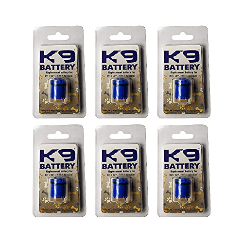 K9 Battery Compatible Aftermarket Battery | Invisible Dog Fence Battery | Replacement Battery for R21, R22, R51, and Microlite Dog Collars | Shock Collar Batteries for Electric Fence