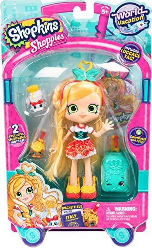 Shopkins World Vacation (Europe) Shoppies Doll - Spaghetti Sue