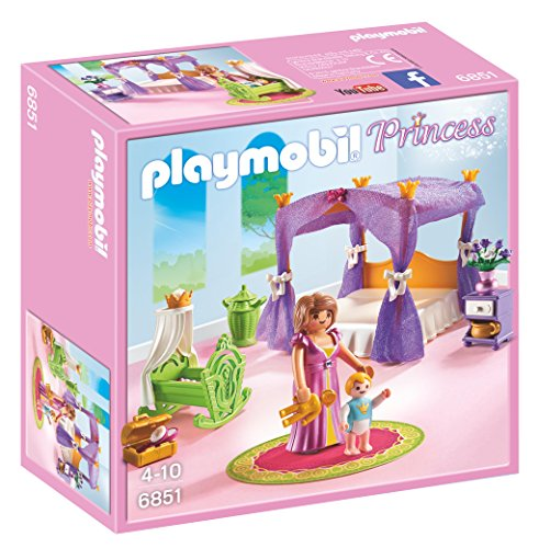 PLAYMOBIL - Dormitorio de Princesas con Cuna (6851)