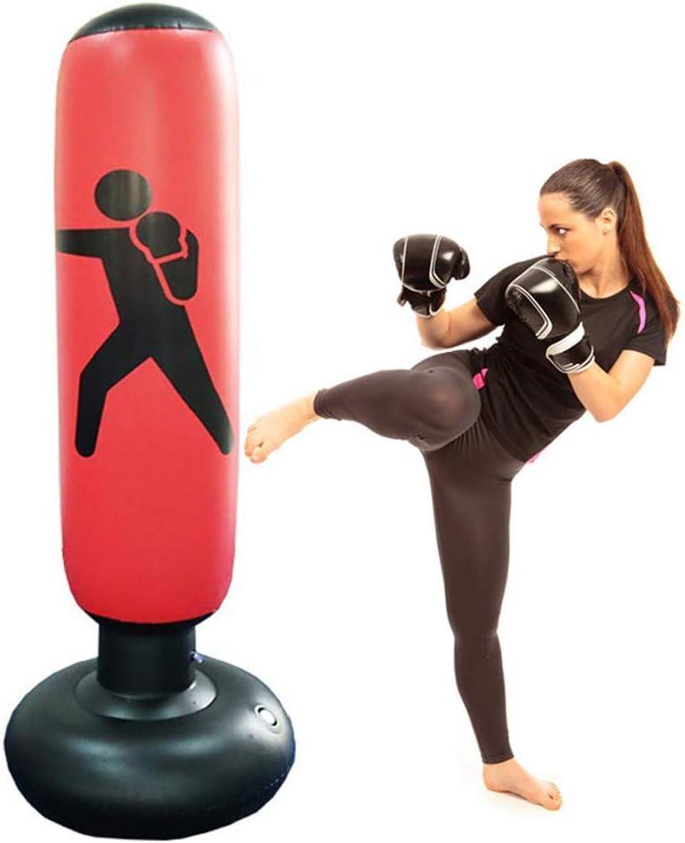 CSPone - Bolas de boxeo hinchables para adultos y niños (160 cm)