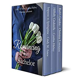 Romancing the Bachelor: Clean contemporary romances by [Cindy M. Amos, Cynthia Hickey, Christina Lorenzen]