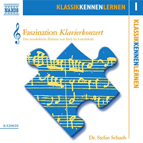 Faszination Klavierkonzert (KlassikKennenLernen 1) Titelbild