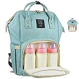 Lemonda Multi-Function Waterproof Diaper Bag Travel Backpack Nappy Bags for Baby Care, Large