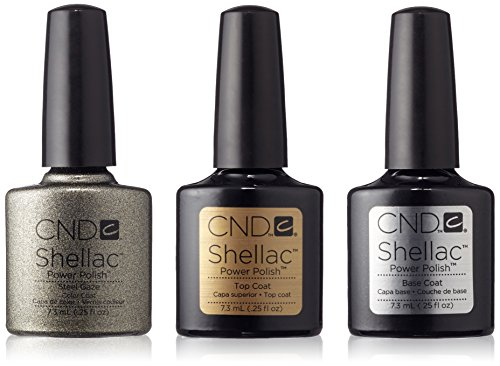CND Original CND Shellac Steel Gaze plus Base Coat plus Top Coat 7,3 ml