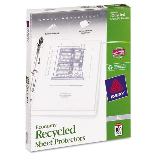 Archival Recycled Sheet Protector - 9