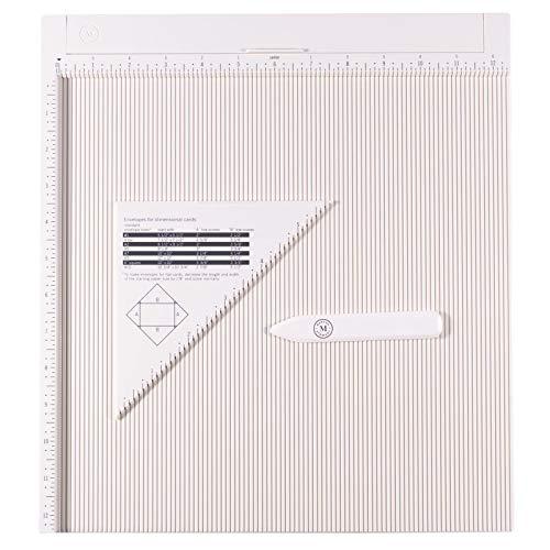 Martha Stewart Base para Marcar Crear Tarjetas, Sobres, Cajas de Regalo y Más, Blanco, 30.5 x 30.5 cm