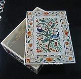 Gifts And Artefacts Caja de joyería de mármol de 8 x 11 Pu