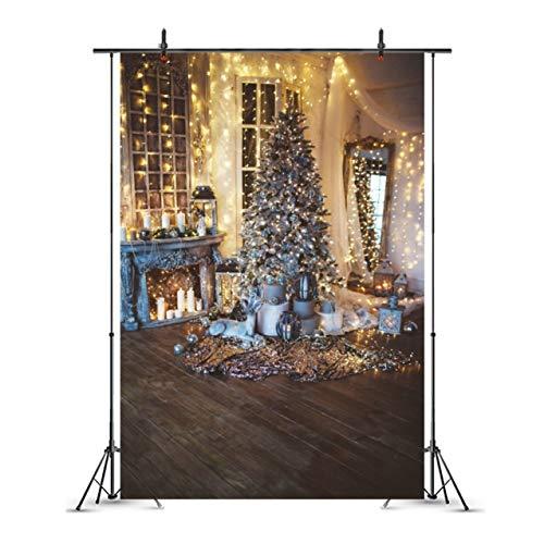 Hocee Stijlvolle Nieuwe Vrolijke Kerst Doek Fotografie Achtergronden Woonkamer Kerstboom Decoraties Achtergronden, L, 10115157 220 * 150cm