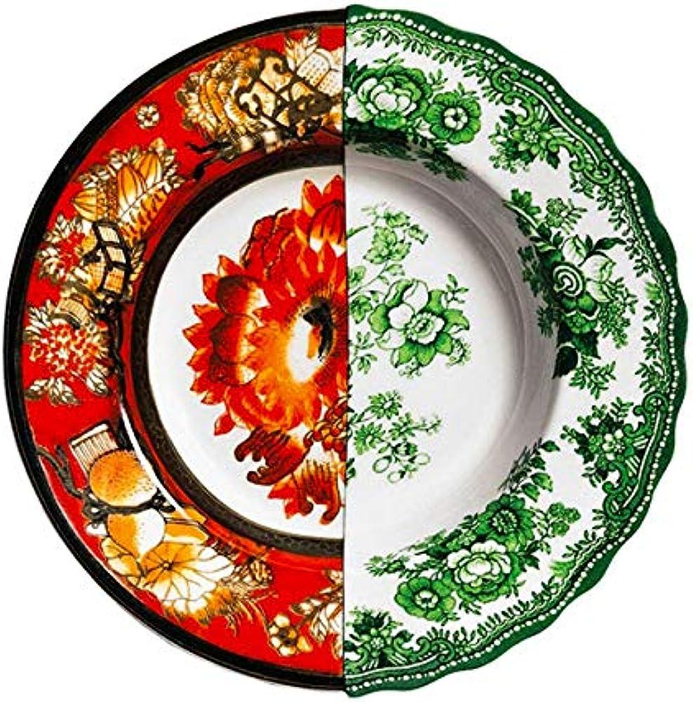 Seletti, piatto fondo in porcellana Ø cm.25,4 h.4,2
