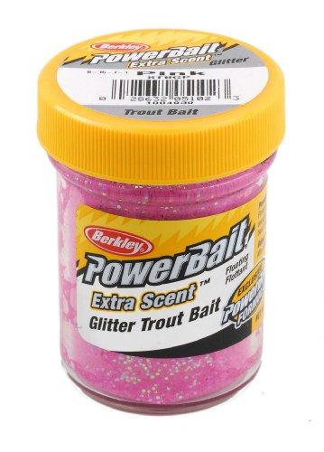 Berkley Power Bait pink Glitter Forellen-Teig
