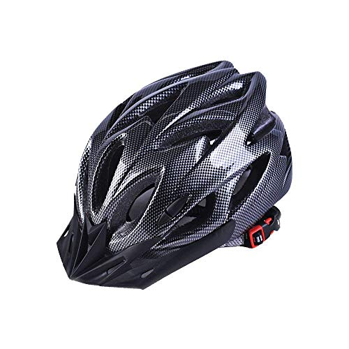 Adult Cycling Bike Helmet,Lightweight Unisex Bike Helmet,Premium Quality Airflow Bike Helmet (Black)
