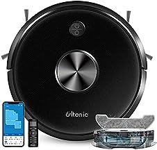 Ultenic D5S Pro ロボット掃除機 2500pa 水拭き両用 Alexa対応 150分間稼働 アプリ制御 静音 薄型 カーペットAuto-boost 水量調節 境界テープ; セール価格: ¥16,990