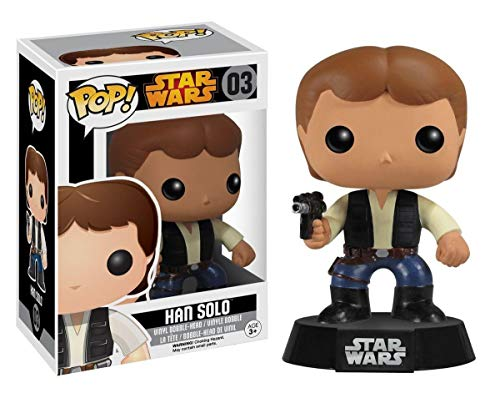 Figura POP Vinyl Bobble Head Han Solo Star Wars