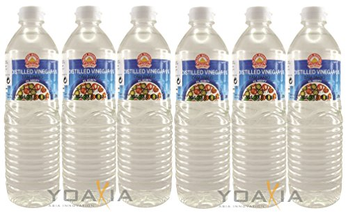 Branntweinessig 6 x 1000ml Golden Mountain Essig 5% Säure Destillierter Essig