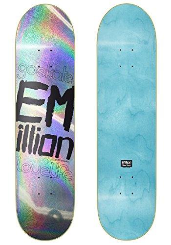 Emillion Skateboard Deck Laser Series + Fantic26 Sticker (8,375'')
