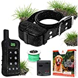 Pet Control HQ Dog Containment System Wireless Perimeter w/ (1 or 2) Shock Collar Kit & Remote -...