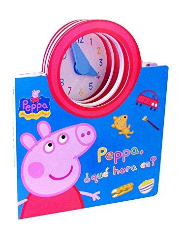 Peppa, ¿qué hora es? (Peppa Pig. Libro regalo)