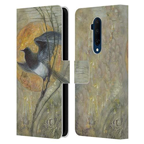 Officiële Stephanie Law Ekster Vreemde dromen Lederen Book Portemonnee Cover Compatibel voor OnePlus 7T Pro