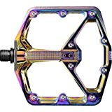 Crank Brothers Stamp 7 Competitive Cyclist Exclusive Edition Pedals Oil Slick, Large