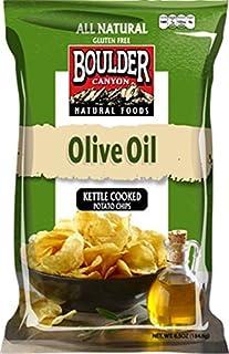 Boulder Canyon Olive Oil Kettle Chips, Classic Sea Salt, 6.5 oz