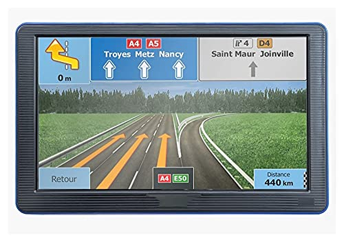 juqingshanghang1 Vehículo GPS Unidades 7 Pulgadas HD GPS Coche de navegación portátil Camping DE Camiones Navegador de Caravana Sat para Auto (Color Name : with Bluetooth avin)