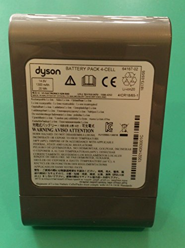 Akku Batterie Li-Ion 14,8V 1300mAh DC 30 Staubsauger ORIGINAL Dyson 917083-08