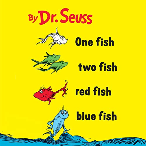 Couverture de One Fish Two Fish Red Fish Blue Fish