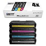 4x Müller Printware cartuccia del toner per Ricoh Aficio SP C 250 sf SFw e dn sostituisce tutti i colori