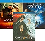 Assassin / Memories of the Sword / Snow Girl and the Dark Crystal Blu Ray