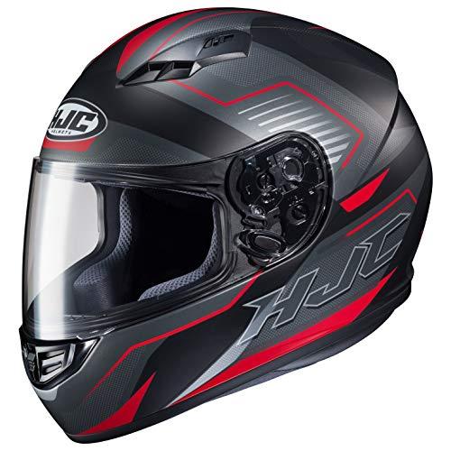 Casco moto HJC CS 15 TRION MC1SF, Nero/Grigio/Rosso, L