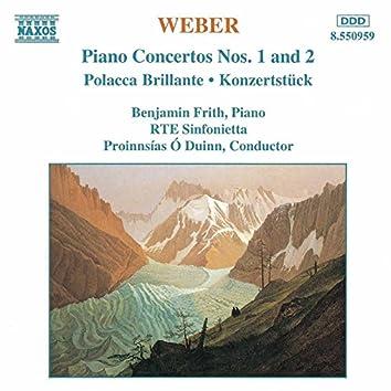 Weber: Piano Concertos Nos. 1 and 2 / Polacca Brillante